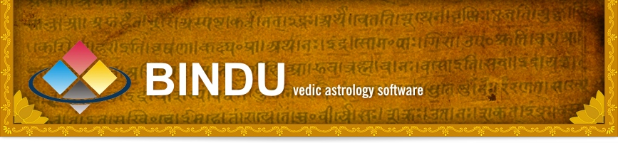 BINDU Vedic Astrology Program