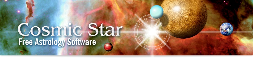 COSMIC STAR FREE ASTROLOGY SOFTWARE